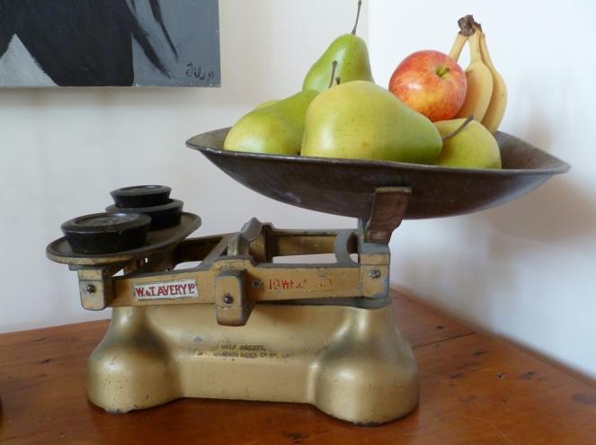 fruit bowl scales