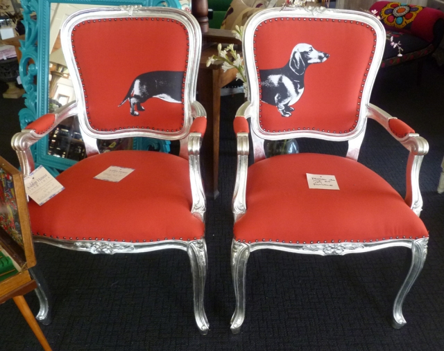 Sausage Dog chairs