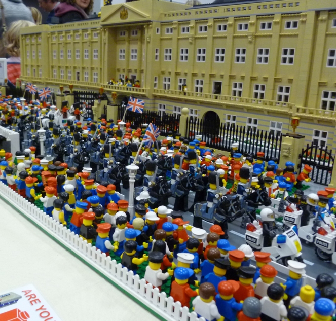 Lego Bellarine Buckingham palace