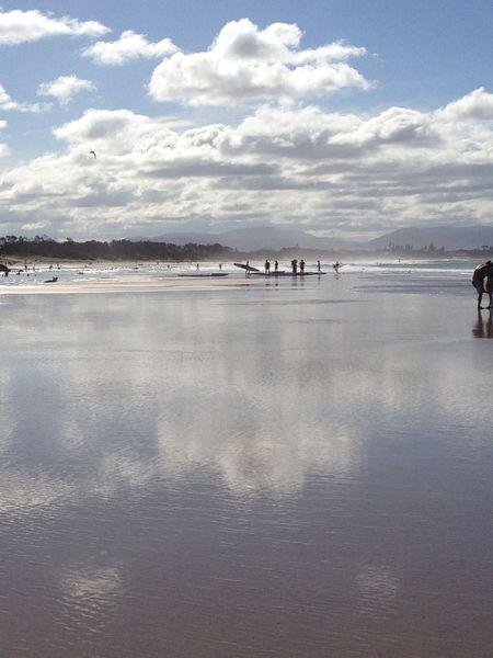 Byron Bay Beach photo by Sheryl Allen