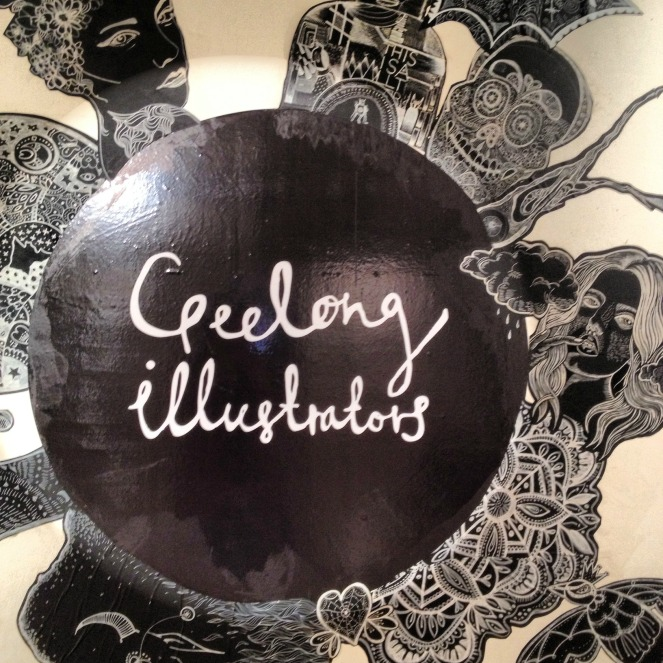 geelong illustrators, exhbition, art, creative, fifty-something, midlife