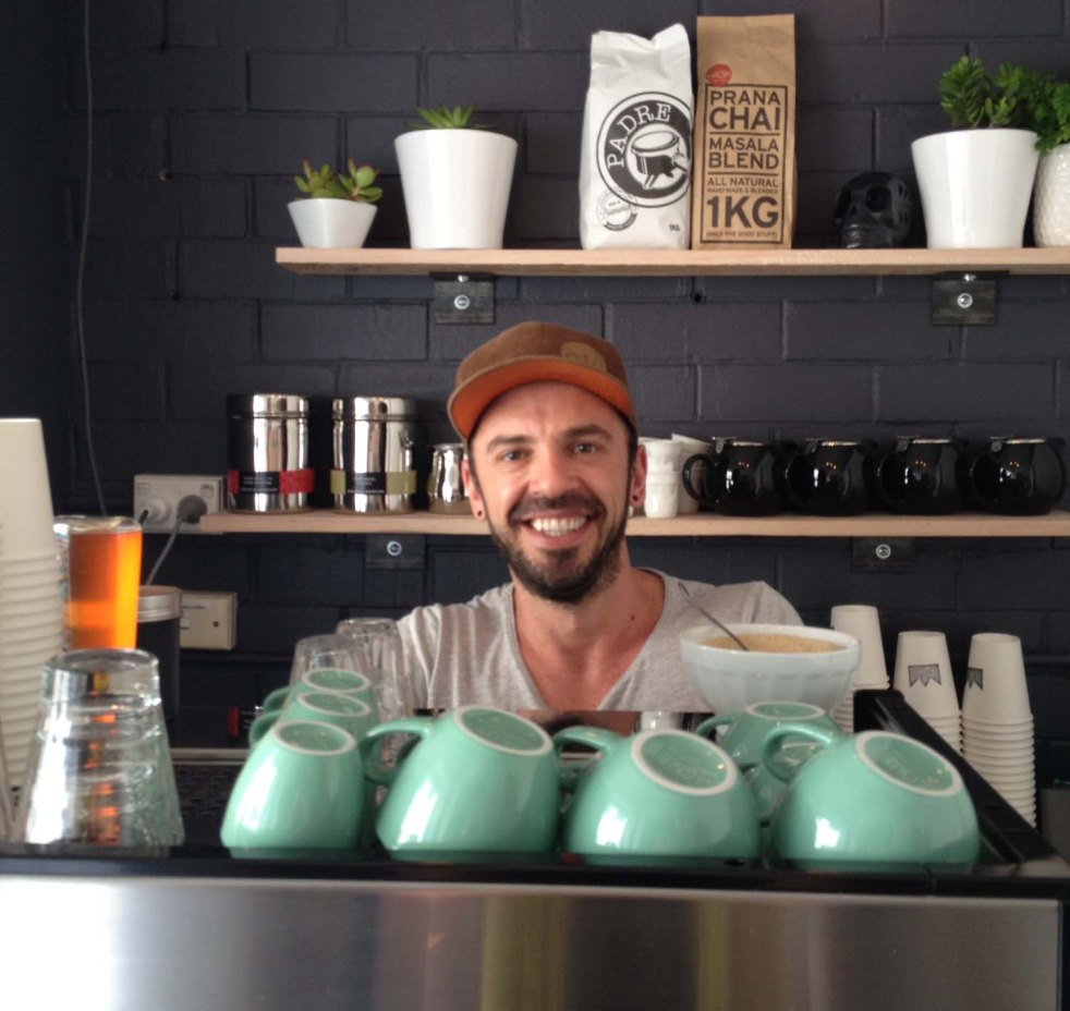 robbie lecchino, ling of the castle, cafe geelong, coffee geelong, midlife, fifty-something