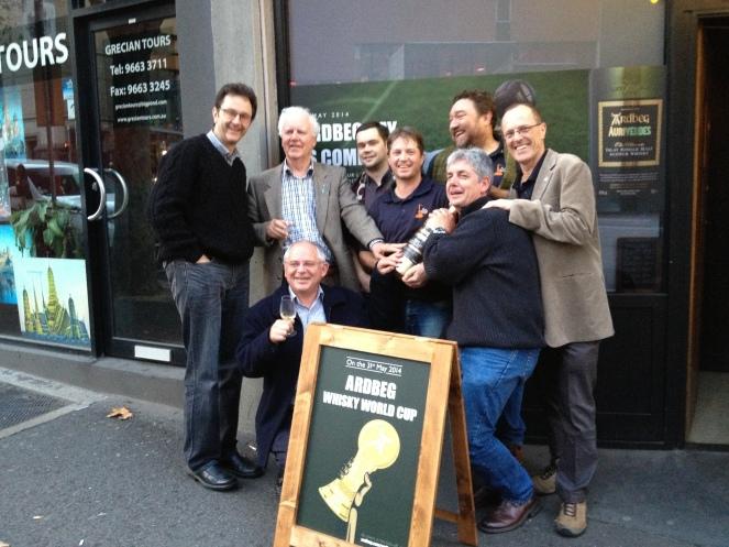 ardbeg day 2014, melbourne, whisky and alement, ardbeg aurive