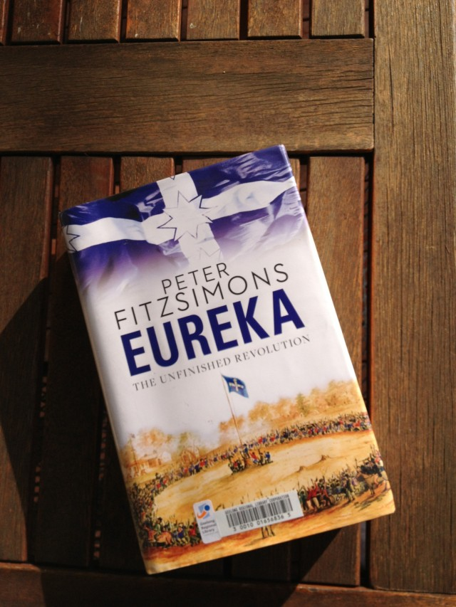 Eureka, Peter Fitzsimons, book review, Australian author, midlife, boomer, book club