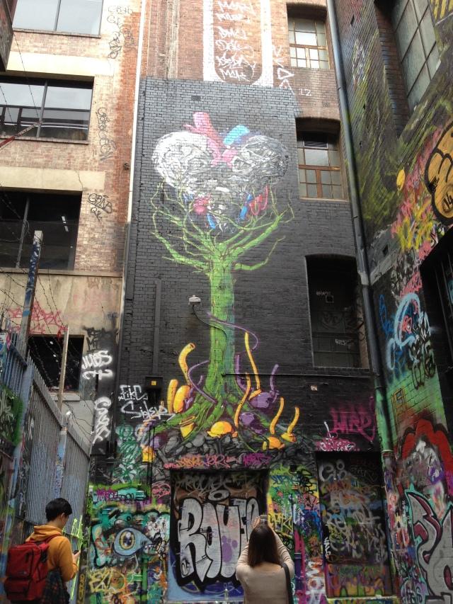 Rutledge Lane Melbourne, street art melbourne, midlife, boomer, fifty-something