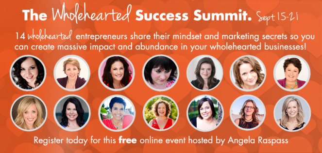 wholehearted business success summit, business success, virtual learning,