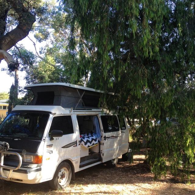 life's a beach, vacation, mini-break, rosebud, victoria, australia camping life, camper van