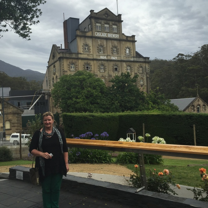 mona hobart, visit tasmania, travel australia, midlife travel, being fiftysomething, hadleys hotel hobart, cascade brewery