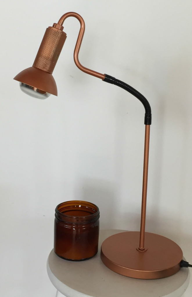 copper desklamp photo by sheryl allen