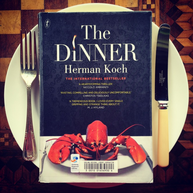 The Dinner, Herman Koch, currently reading, now reading, book club
