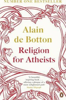 religion for aetheists, book club, alain de botton, currently reading